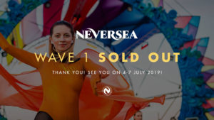 Abonamente la un preț special pentru ce-a de-a treia ediție a festivalului NEVERSEA