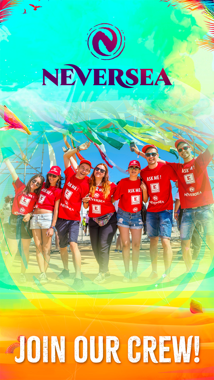 Înscrie-te în echipa de voluntari pentru NEVERSEA!