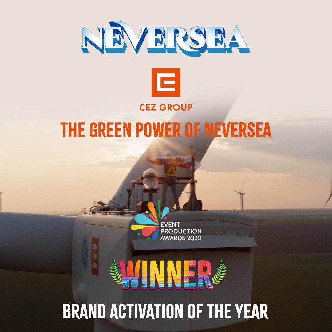 "Campania ""The Green Power of Neversea"" a luat premiul cel mare la ""The Event Production Awards"" de la Londra"
